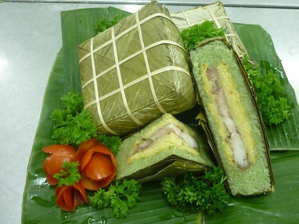 An mon khoai khau banh chung ran nhu the nao cho it beo? hinh anh