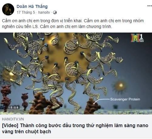De nghi cham dut hoat dong trang Facebook quang cao nano vang hinh anh 1