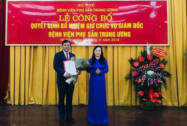 Benh vien Phu san Trung uong co giam doc moi hinh anh