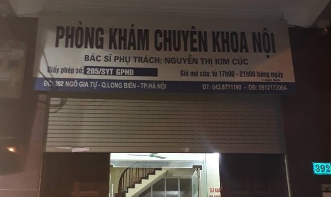 Phong kham noi be trai tu vong khong duoc phep truyen dich hinh anh 1