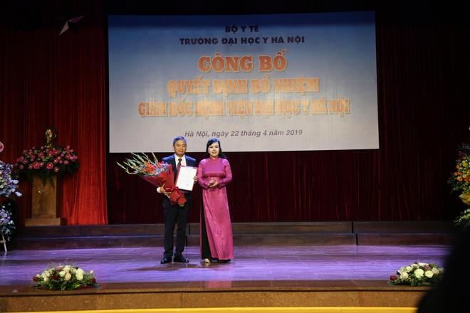 PGS Nguyen Lan Hieu lam giam doc Benh vien Dai hoc Y Ha Noi hinh anh 1