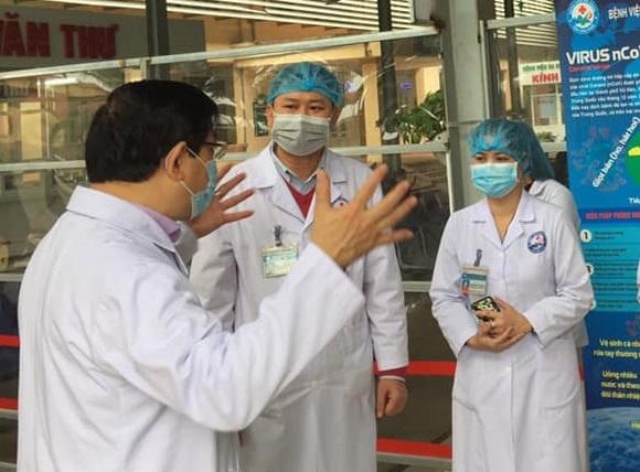 Vinh Phuc dua hon 160 can bo y te ve huyen Binh Xuyen hinh anh 1 chidao_1.jpg
