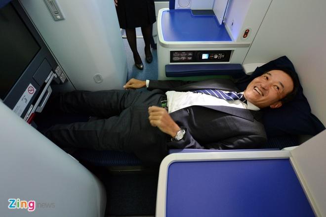 Can canh sieu may bay Boeing 787 lan dau den Ha Noi hinh anh 17