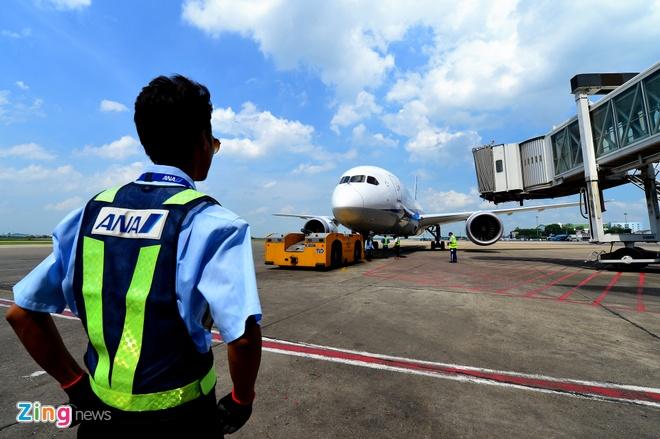Can canh sieu may bay Boeing 787 lan dau den Ha Noi hinh anh 29