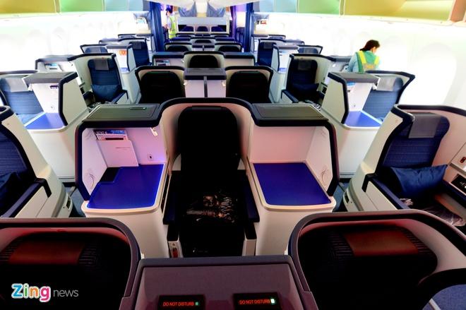 Can canh sieu may bay Boeing 787 lan dau den Ha Noi hinh anh 7