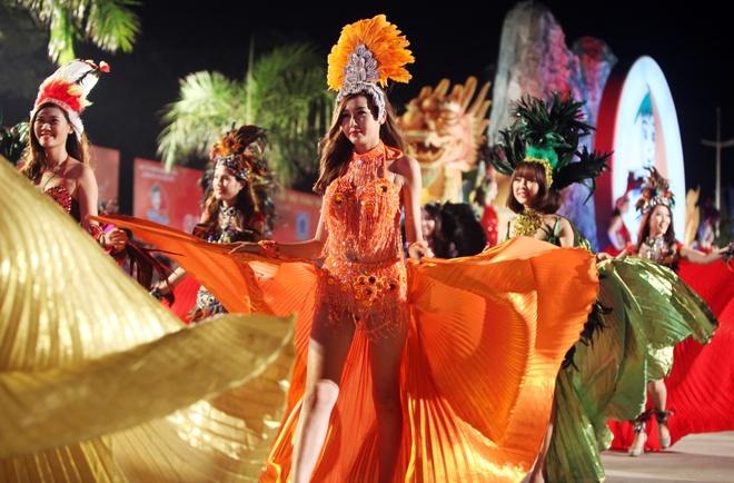 Hang nghin nguoi tham du dem hoi Carnaval Ha Long hinh anh