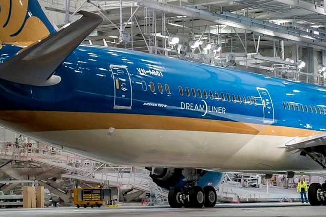 May bay Boeing 787 dau tien cua Vietnam Airlines sap ve VN hinh anh 2