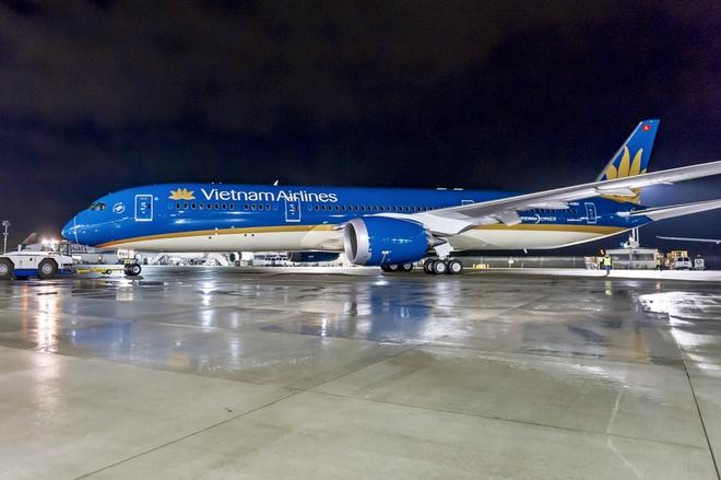 May bay Boeing 787 dau tien cua Vietnam Airlines sap ve VN hinh anh 4
