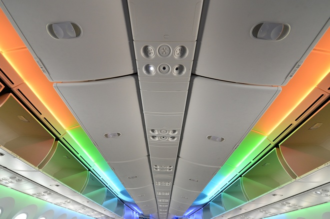 May bay Boeing 787 dau tien cua Vietnam Airlines sap ve VN hinh anh 12