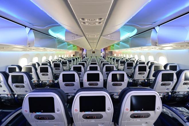 May bay Boeing 787 dau tien cua Vietnam Airlines sap ve VN hinh anh 7