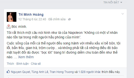 Nha bao 'nghin like' tren Facebook hinh anh 2