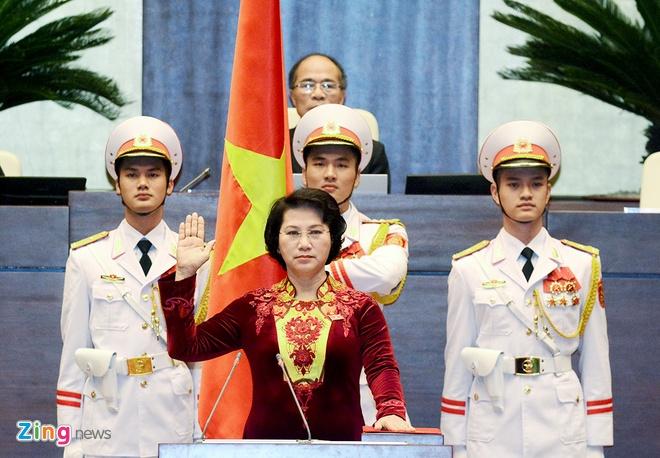 Phut tuyen the nham chuc cua ba Nguyen Thi Kim Ngan hinh anh 5