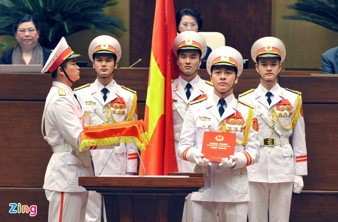 Khoanh khac Chu tich nuoc Tran Dai Quang nham chuc hinh anh 2