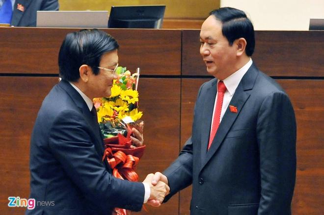 Khoanh khac Chu tich nuoc Tran Dai Quang nham chuc hinh anh 9