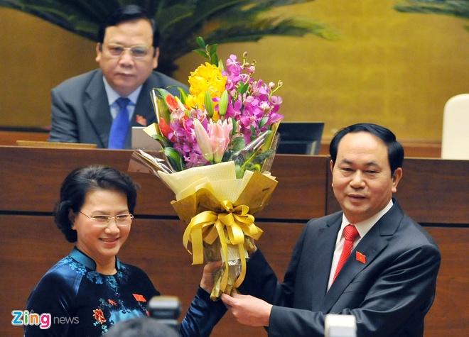 Khoanh khac Chu tich nuoc Tran Dai Quang nham chuc hinh anh 7
