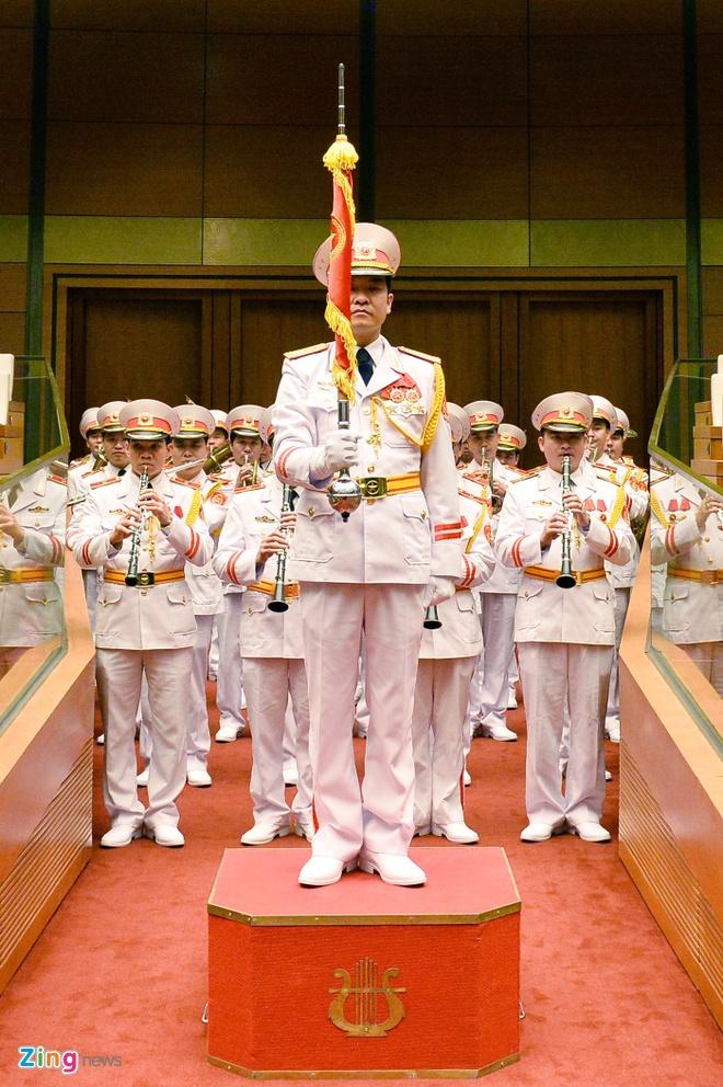Khoanh khac Chu tich nuoc Tran Dai Quang nham chuc hinh anh 1