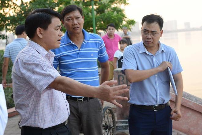 Ong Nguyen Duc Chung chi dao tai hien truong ca chet hang loat hinh anh
