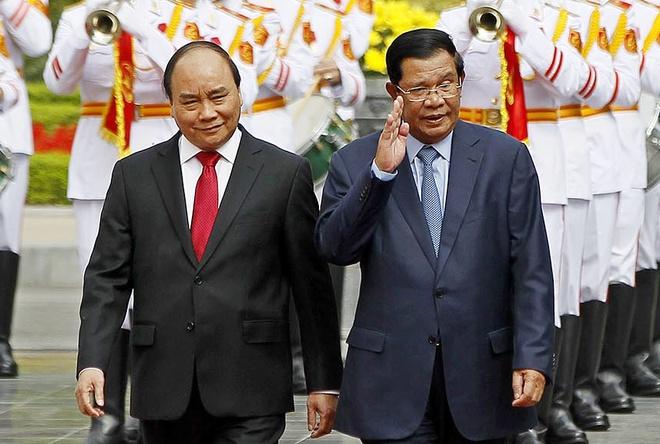 Le don Thu tuong Campuchia Hun Sen tai Ha Noi hinh anh