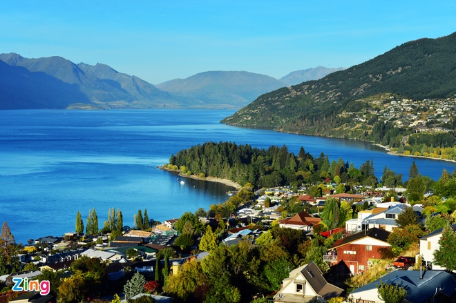 Phong canh tuyet dep o Auckland, Queenstown hinh anh