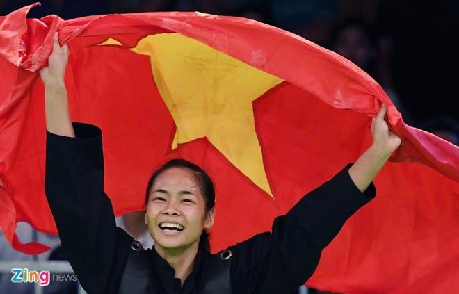 Khoanh khac kho quen cua the thao Viet Nam tai SEA Games 29 hinh anh