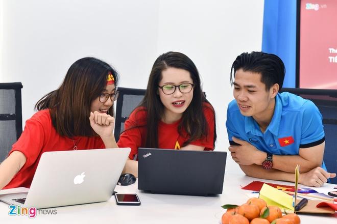 Tien Dung, Cong Phuong: 'Niem tin chua bao gio tat voi U23 Viet Nam' hinh anh 15
