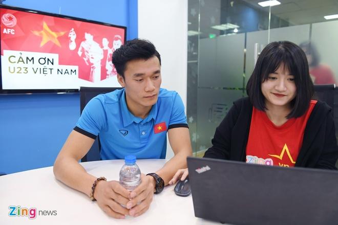 Tien Dung, Cong Phuong: 'Niem tin chua bao gio tat voi U23 Viet Nam' hinh anh 9