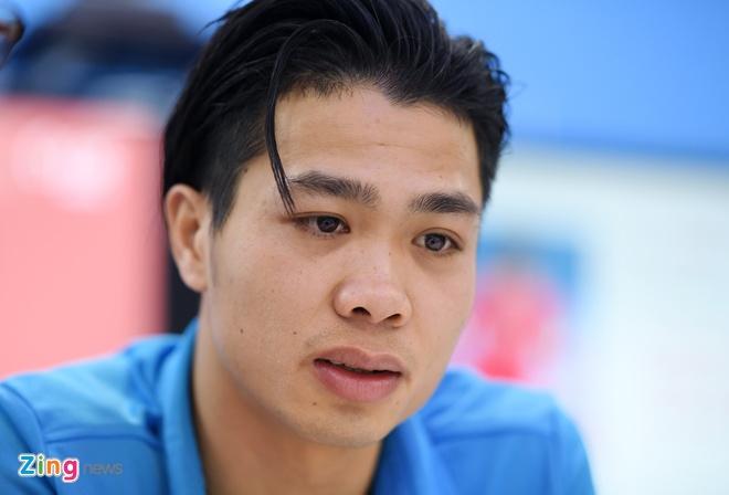 Tien Dung, Cong Phuong: 'Niem tin chua bao gio tat voi U23 Viet Nam' hinh anh 4