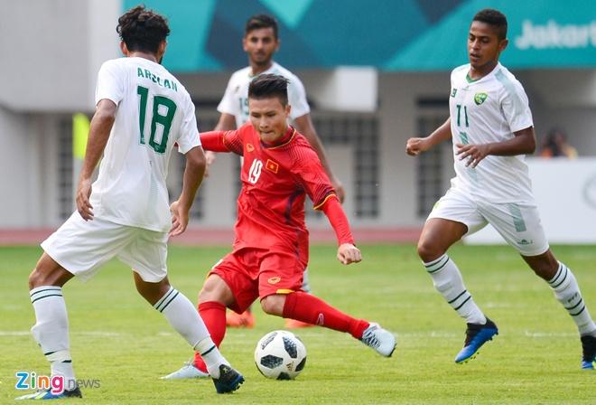 Olympic VN 3-0 Olympic Pakistan: Cong Phuong da hong 2 qua penalty hinh anh 28