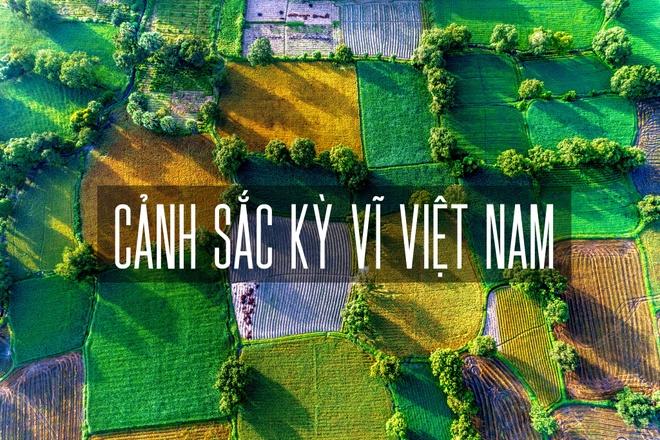Canh sac Viet Nam dep ky vi nhin tu tren cao hinh anh