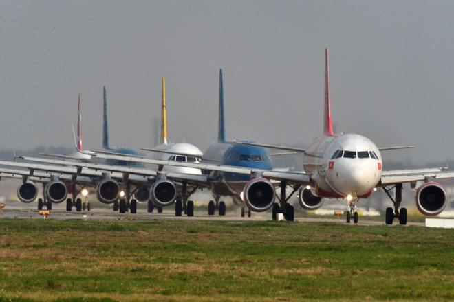 Ngày bận rộn khác lạ ở sân bay Nội Bài trước thượng đỉnh Mỹ - Triều