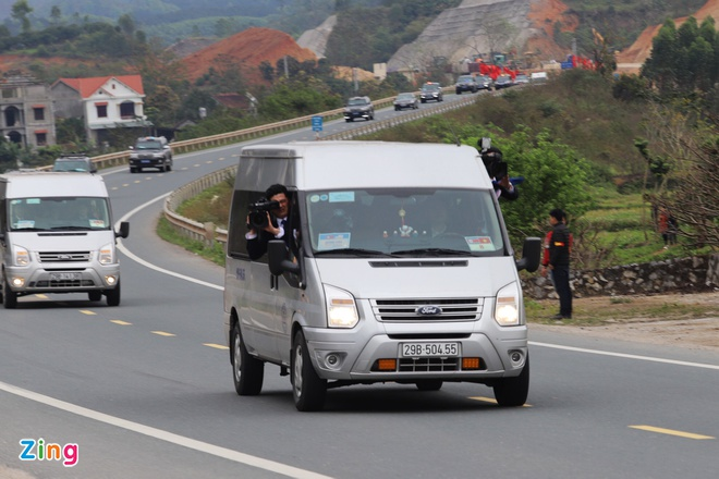 Doan xe ong Kim Jong Un ve toi khach san Melia hinh anh 3