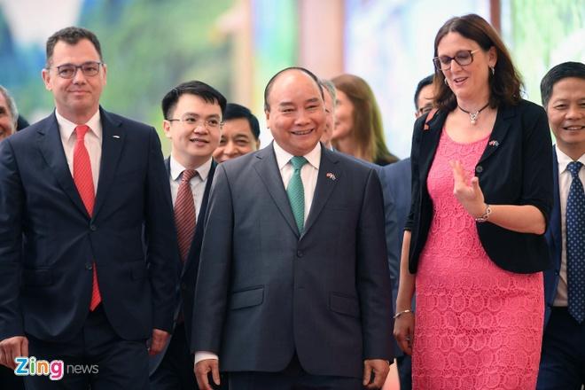 Thu tuong: EVFTA va IPA la 2 cao toc hien dai noi lien Viet Nam - EU hinh anh 6