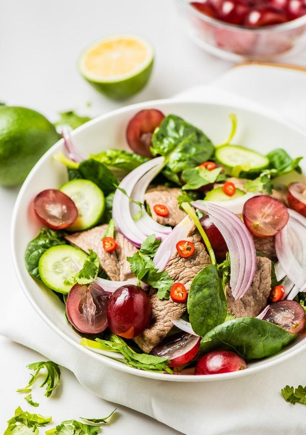 Salad thit bo kieu Thai la mieng, mat lanh hinh anh 5