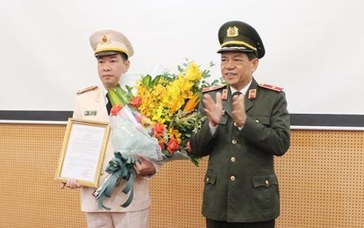 Bo nhiem truong phong Canh sat Kinh te CATP Ha Noi hinh anh