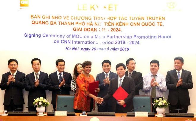 Hà Nội tiếp tục hợp tác với CNN quảng bá hình ảnh, con người thủ đô