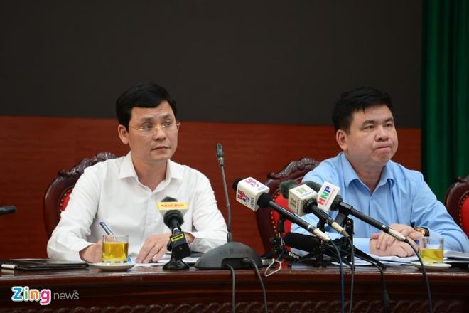 Họp báo về Nhật Cường, đại diện UBND Hà Nội không trả lời câu hỏi nào