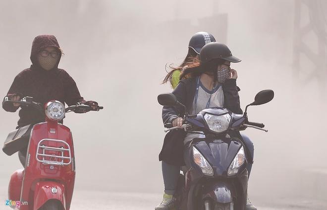 Vì sao chất lượng không khí ở Hà Nội liên tục ở mức báo động?