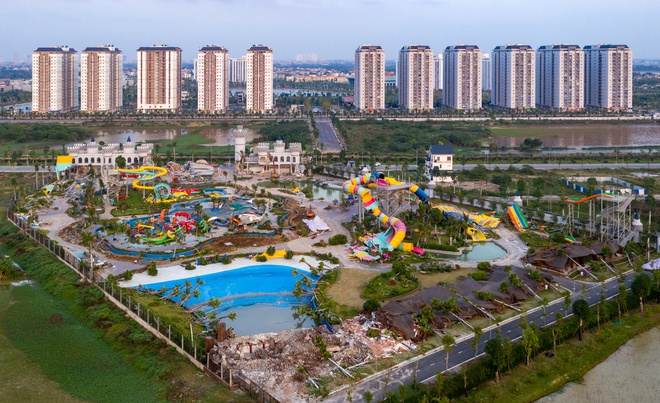 Hà Nội yêu cầu làm rõ việc công viên nước Thanh Hà xây dựng trái phép
