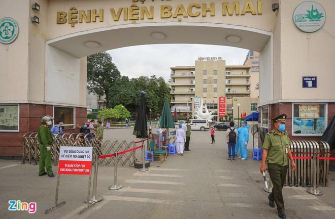 Hà Nội sẽ cách ly y, bác sĩ Bệnh viện Bạch Mai ở khách sạn