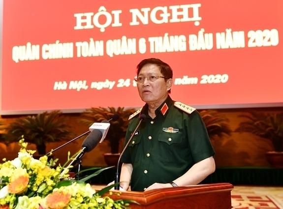 hoi nghi Quan uy Trung uong 2020,  Thu tuong Nguyen Xuan Phuc anh 2