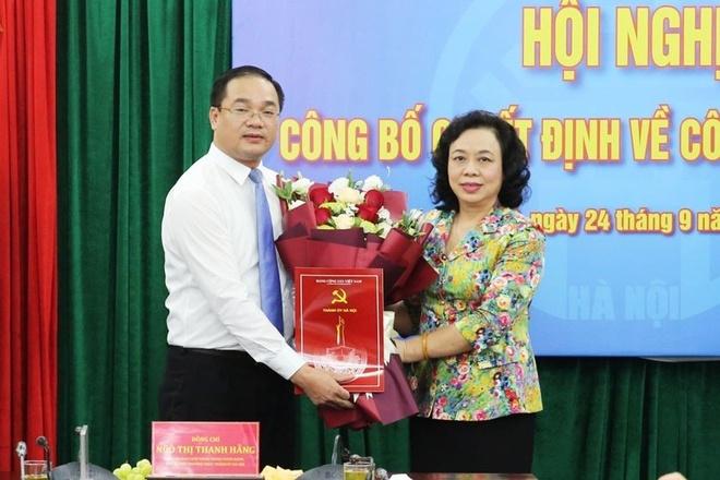 Bi thu Huyen uy My Duc Nguyen Ngoc Viet anh 1