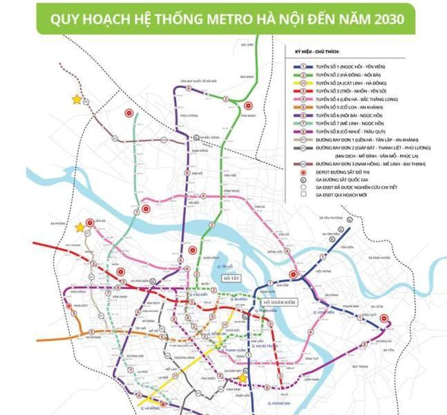 Tuyen metro so 5 khoi cong vao nam 2022 anh 1