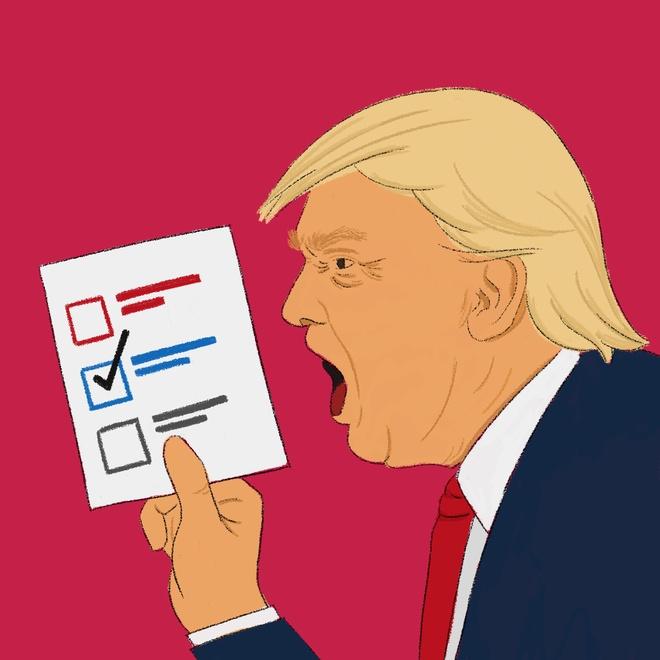 Trump kien ket qua bau cu anh 1