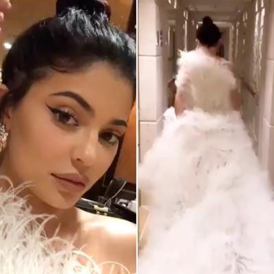 Kylie Jenner 'chơi sang' diện váy 500 triệu đồng tại sinh nhật tuổi 22