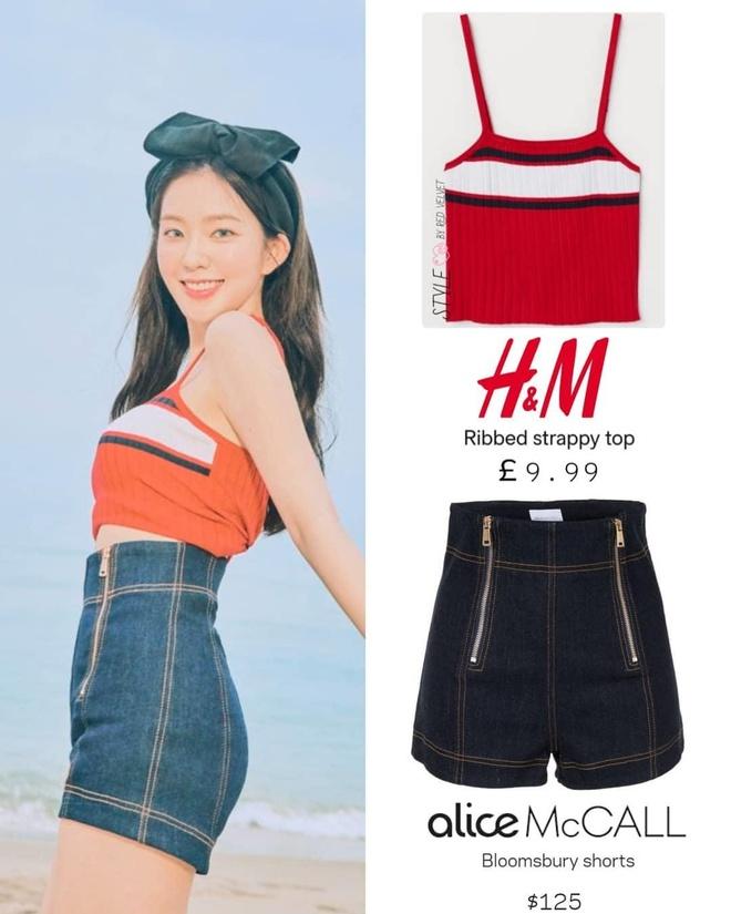 Red Velvet chuyen bi stylist cho mac do re tien gia vai tram nghin hinh anh 1