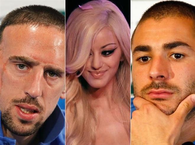 Cac vu scandal cua Karim Benzema hinh anh