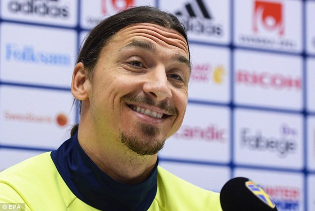 Ibrahimovic: 'Toi dua Phap va Thuy Dien len ban do the gioi' hinh anh 1
