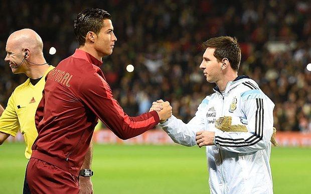 Ronaldo va Messi dong cam voi noi dau cua nuoc Phap hinh anh