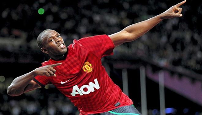 Usain Bolt them mot lan cong khai to tinh voi MU hinh anh 1