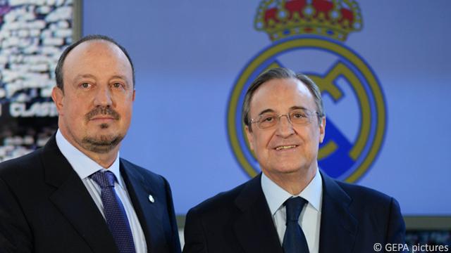 Chu tich Perez: 'Benitez hay cho Ronaldo du bi neu muon' hinh anh
